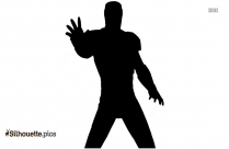 Superior Iron Man Silhouette Vector And Graphics