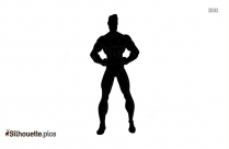 Anime Man Hero Silhouette For Download