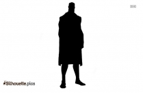 Superman Silhouette Clipart Image
