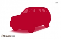 SUV Car Silhouette Image And Vector