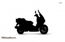 Black Suzuki Gladius Silhouette Image
