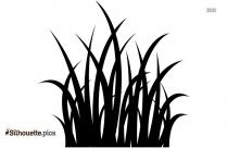 Clipart Of Grass Border Silhouette