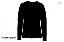 Sweater Silhouette Vector