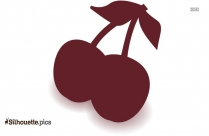 Orange Fruit Silhouette Image And Vector