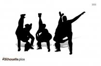 Swing Dance Silhouette Art