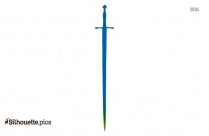Sword Clipart Silhouette Painting