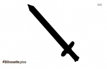 Sword Drawing Silhouette Illustration