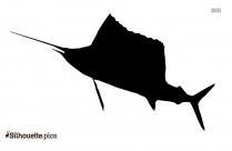 Ocean Fish Silhouette Vector