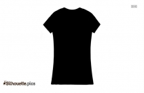 T Shirt For Sale Vector Silhouette