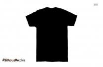 Full Sleeve T Shirt Silhouette Image
