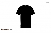 T Shirt Vector Silhouette Image
