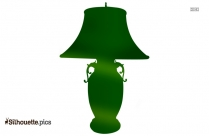 Table Lamp Clipart Vector
