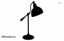 Table Lamp Silhouette Free Vector
