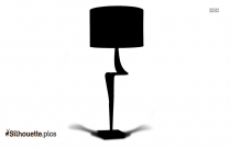 Oriental Style Table Lamp Silhouette