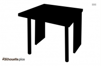Round Table Silhouette Clipart