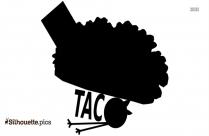 Taco Mae Clip Art Silhouette