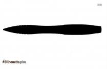 Paper Clip Silhouette Picture