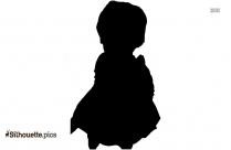 Majorette Lol Doll Silhouette Illustration