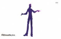 Tall Man Clipart Silhouette