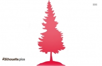 Christmas Decorations Tree Silhouette Illustration