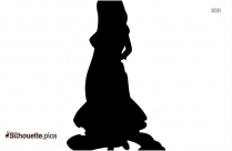 Black Disney Rat Silhouette Image
