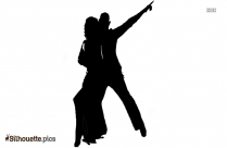 Tango Couple Dancer Silhouette Image And Vector
