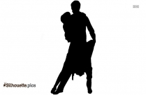 Tango Dancers Silhouette Vector And Graphics