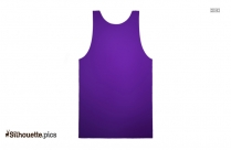 Tank Tops Silhouette Image And Vector