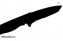 Icing Spatula Silhouette Drawing