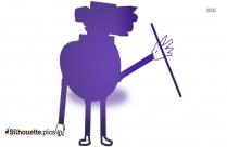 Gentleman Dancing Silhouette