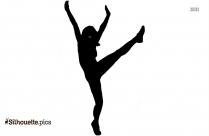 Swing Dance Pose Silhouette