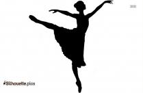 Woman Dancing Clip Art Silhouette