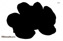 Brussels Sprout Silhouette Clipart