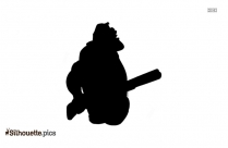 Donald Duck Head Logo Silhouette For Download