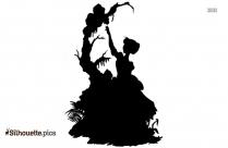 Valentine Disney Cartoon Silhouette Vector And Graphics