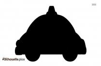 Beetle Car Silhouette Clipart