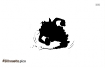 Baby Daffy Silhouette Image And Vector