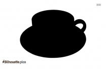 Tea Cup Silhouette Illustration