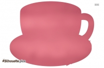 Tea Cup Silhouette Image And Vector