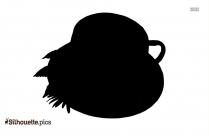 Tea Cup Silhouette Vector