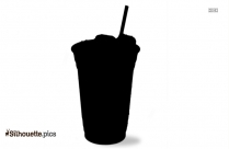 Silhouette Coffee Cup Clipart