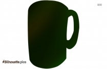 Cartoon Coffee Cup Silhouette