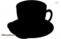 Cup Of Sweet Tea Silhouette