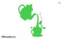 Teapot Silhouette Image And Vector