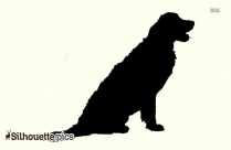 Puppy Silhouette Clipart