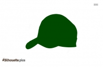 Baseball Cap Silhouette Vector And Graphics