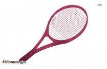 Tennis Racket Silhouette