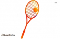 Tennis Racket Silhouette Vector And Graphics