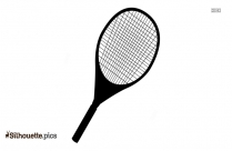 Racket Silhouette Vector And Graphics