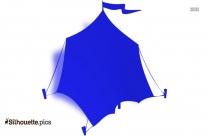 Tent Free Clip Art Silhouette